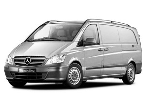 Mercedes Vito Shuttle 8+1 available for Bucharest airport transfers