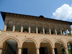 Mogosoaia Palace - front vue