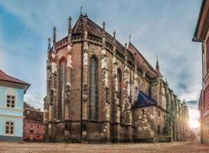 The Black Church in Brasov (Romania)