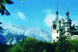 Peles Castle in Sinaia (Romania)