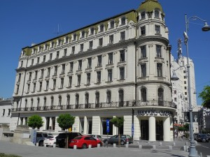 Hotel Capitol in Bucharest (Romania)